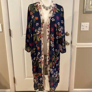 2/$15 or 3/$20- floral kimono